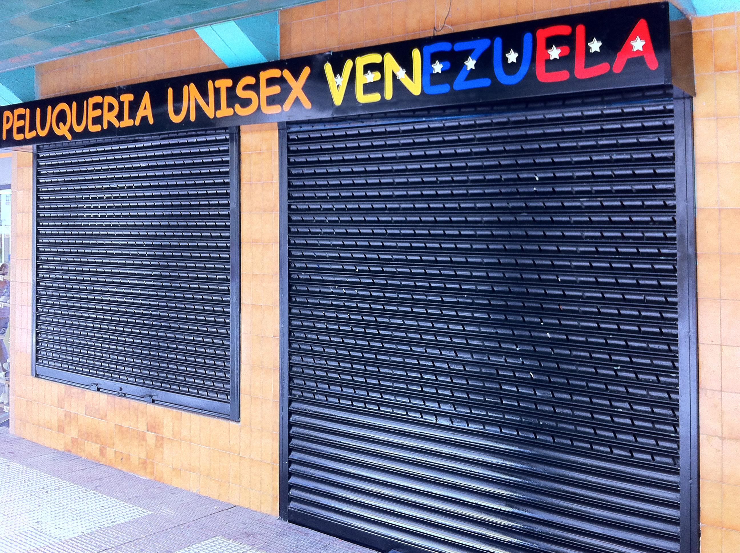 Rotulacion Peluqueria Unisex Venezuela