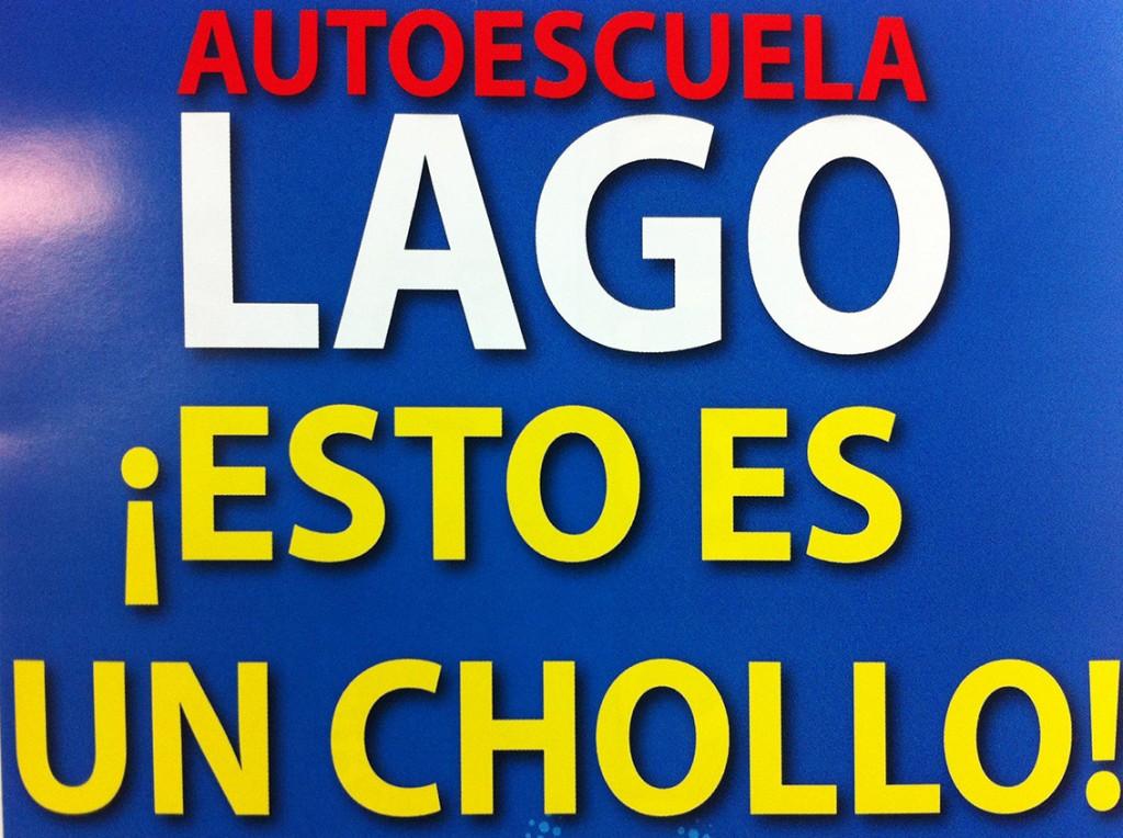 flyers buzoneo autoescuela lago