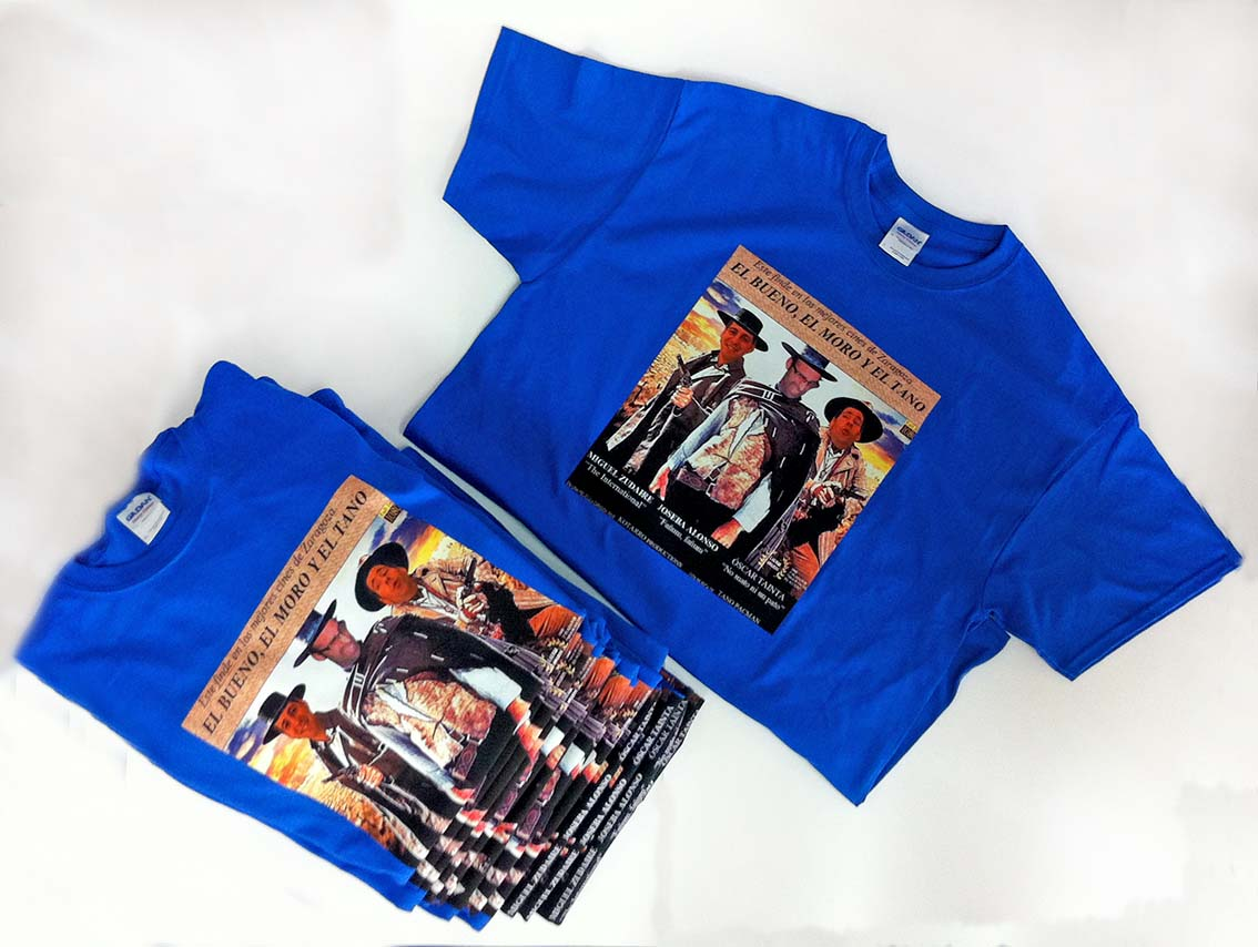 Serigrafia camisetas para despedidas