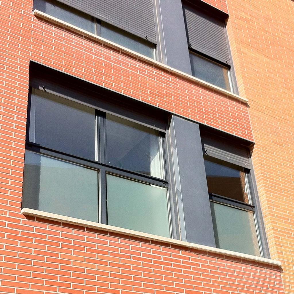 Vinilo traslucido en ventanas
