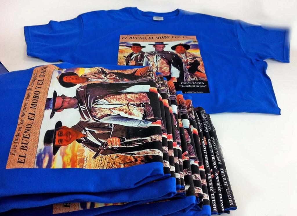 serigrafia camisetas despedida