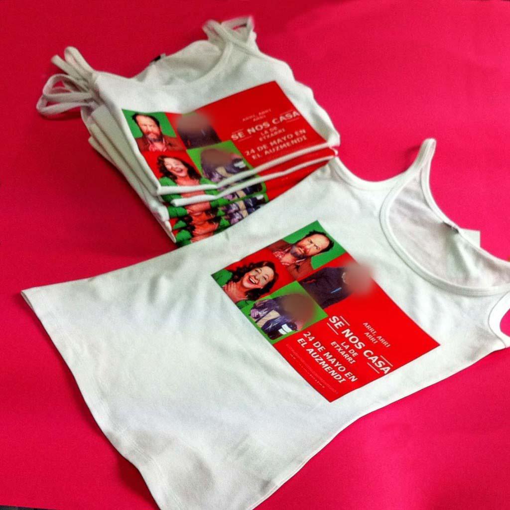 Imprimir camisetas pamplona
