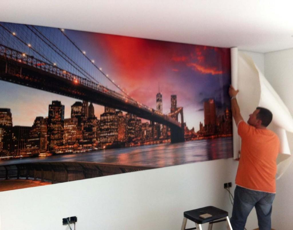 Gecona publicidad fotomurales personalizados - Fotomurales pared ...