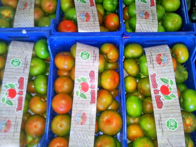 Vitolas para frutas verduras