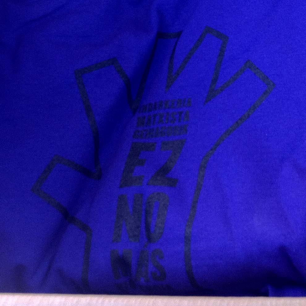 camisetas no mas violencia