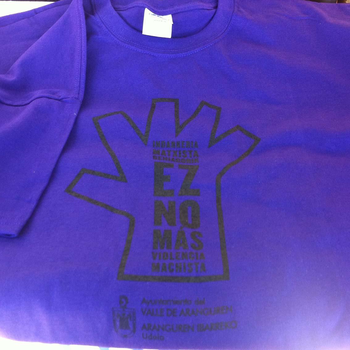 serigrafia camisetas violencia machista