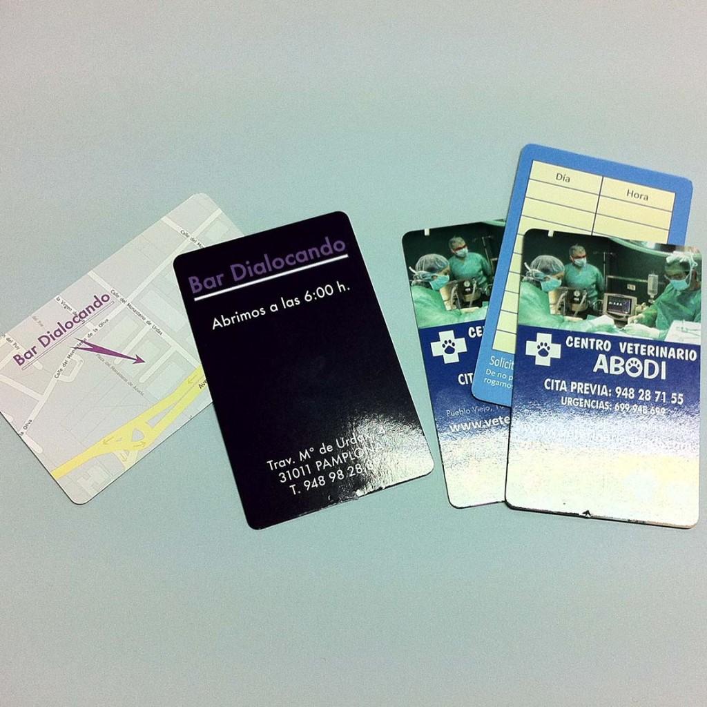 Tarjetas y Calendarios plastificados