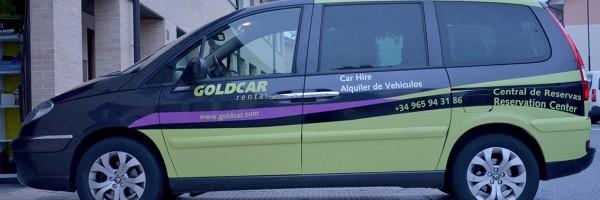 Rotulacion Goldcar