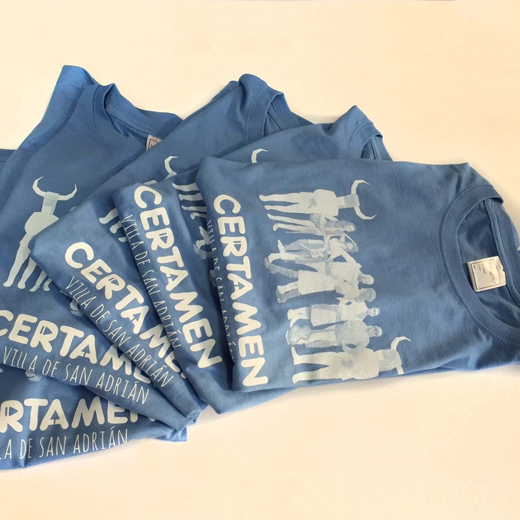 camisetas serigrafia pamplona