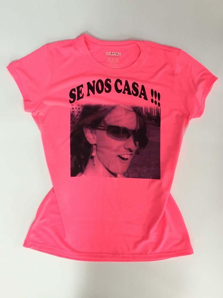 camisetas despedida llamativas