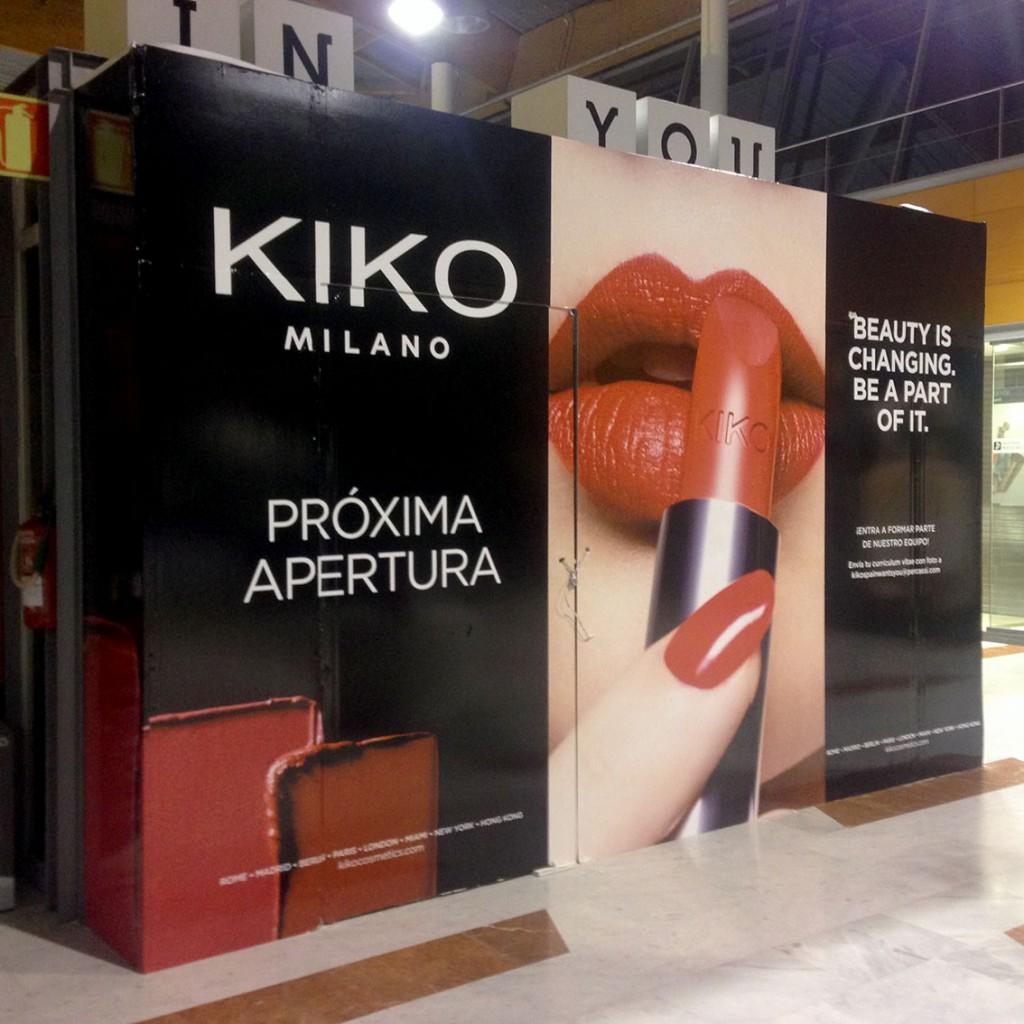 vinilos para cierre provisional kiko