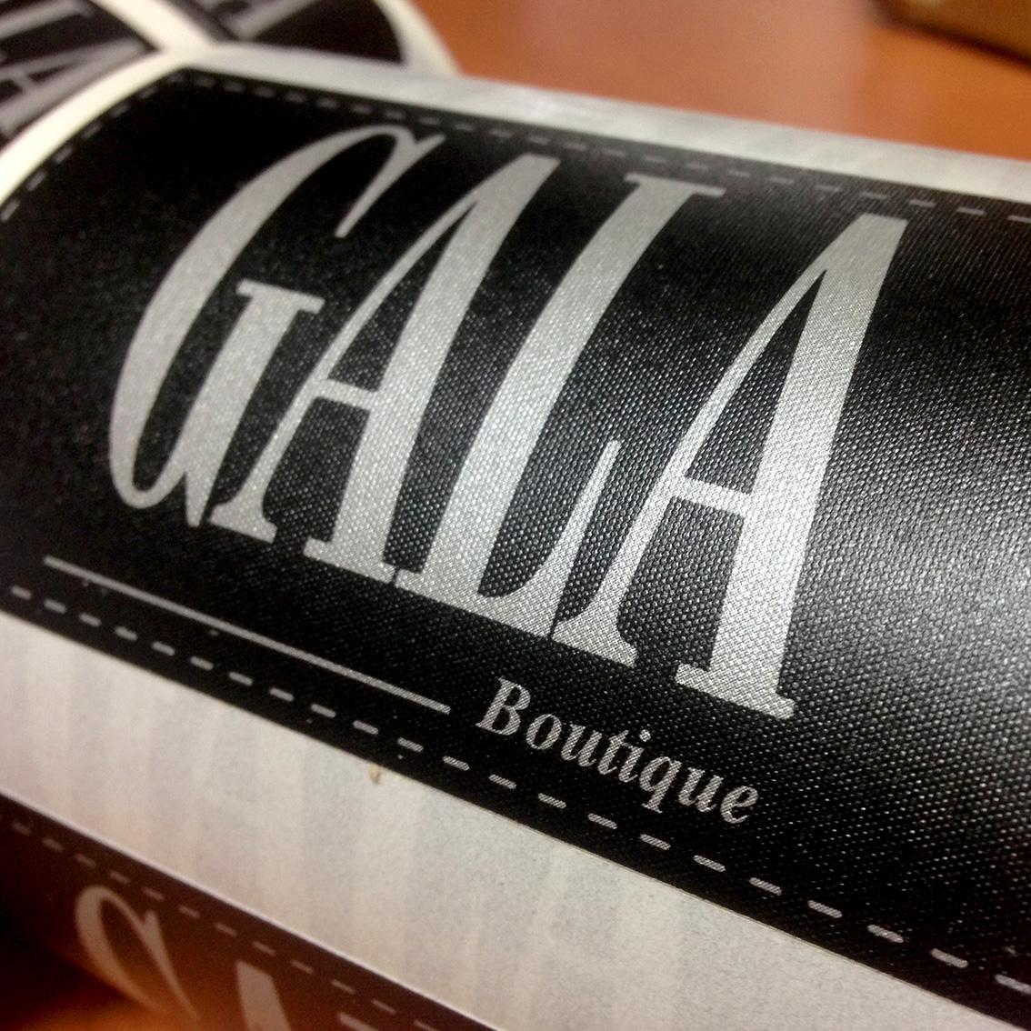 etiquetas personalizadas en bobina
