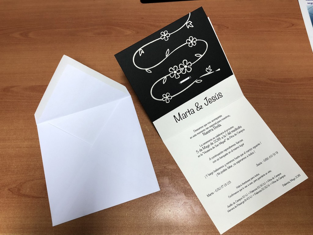imprenta navarra invitaciones