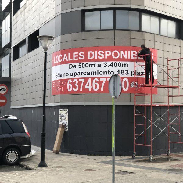Instalacion carteles se vende
