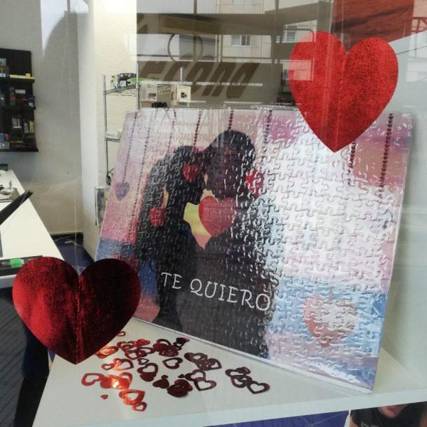 puzzle personalizado san Valentin