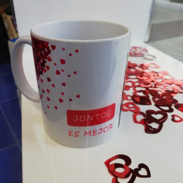 taza personalizada san Valentin
