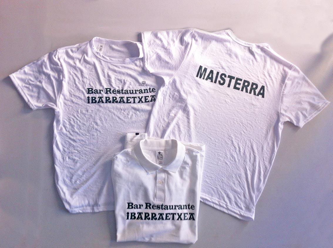 Estampación de camisetas en Pamplona