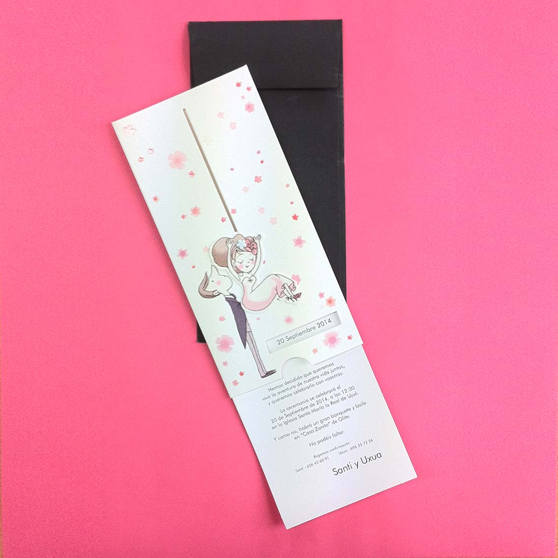 Imprimir invitaciones boda pamplona