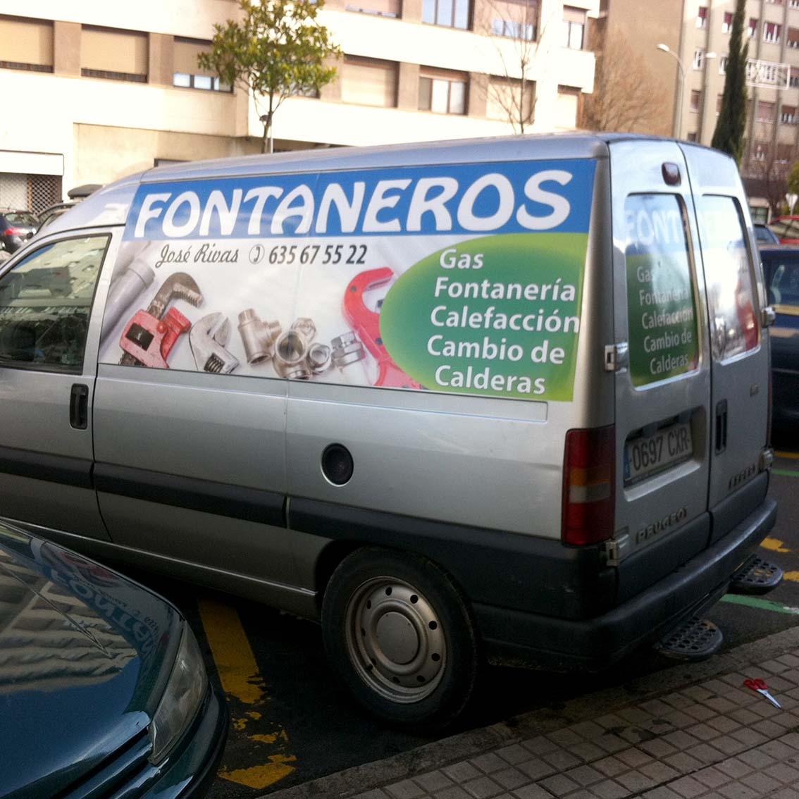 Rotulacion furgoneta integral